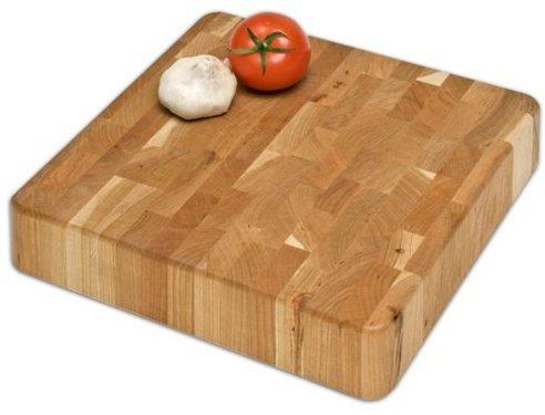 J.K. Adams 12x12-in. End Grain Chunk Board