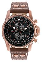 Tommy Bahama RELAX Men's 10018354 Paradise Pilot Dual Time Chronograph (Air) Analog Display Japanese Quartz Brown Watch