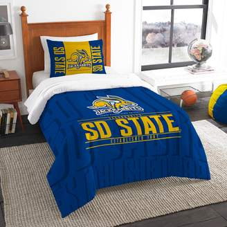 Dakota South State Jackrabbits Modern Take Twin Comforter Set by Northwest