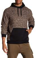 Soul Star Marled Knit Hooded Pullover