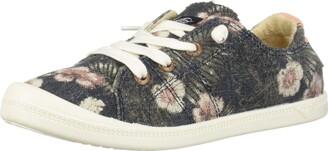 Roxy Girl's Bayshore Slip On Sneaker Shoe