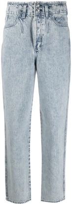 Rag & Bone Straight-Leg Washed Jeans