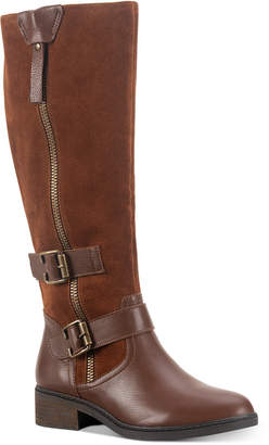 American Rag Collins Leather Buckled Boots, Women Shoes