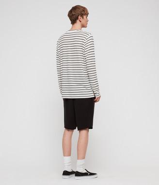 AllSaints Ludo Stripe Crew T-Shirt