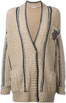 Brunello Cucinelli embellished pocket cardigan