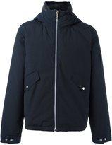 Paul Smith hooded jacket - men - Cotton/Nylon/Polyester - S