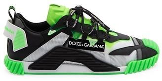Dolce & Gabbana NSI Mixed-Media Sneakers