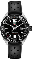 Tag Heuer Formula 1 Black Rubber Strap Watch
