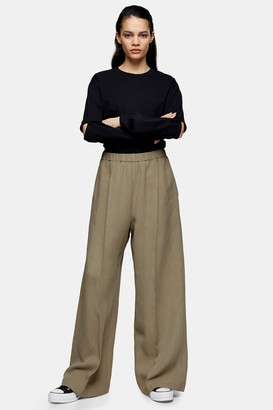 Topshop Womens **Olive Fluid Joggers By Olive