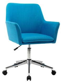 Andover Mills Giovanna Task Chair Color: Blue