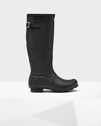Hunter Women's Original Tall Back Adjustable Rain Boots