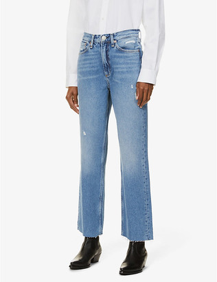 Rag & Bone Ruth straight-leg high-rise jeans