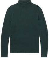 A.P.C. Dundee Merino Wool Rollneck Sweater - Emerald