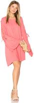 Michael Lauren Morrison Lace Up Dress