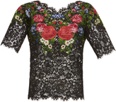 Dolce & Gabbana Short Sleeve Lace top
