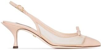 Dolce & Gabbana 60 Pointed Toe Slingback Pumps