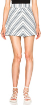 See by Chloe Striped Mini Skirt