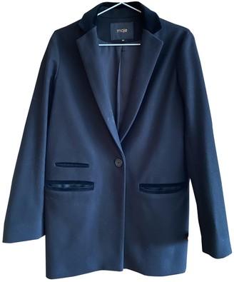 Maje Fall Winter 2019 Black Wool Coats
