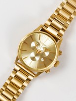 Nixon Sentry SS 42mm Chronograph Analogue Watch in Gold