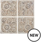 Graham & Brown Moroccan Light Wood Panels - Set Of 4