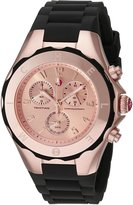 Michele Women's MWW12F000035 Tahitian Jelly Bean Analog Display Analog Quartz Pink Watch