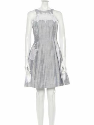 Jonathan Simkhai Linen Mini Dress w/ Tags Grey