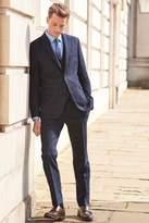 Mens Next Check Tailored Fit Suit: Trousers