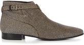 Saint Laurent London brocade ankle boots