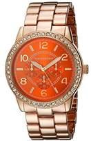 Vernier Women's VNR11194RG Analog Display Japanese Quartz Rose Gold Watch