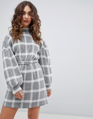 Free People Hampstead check dress