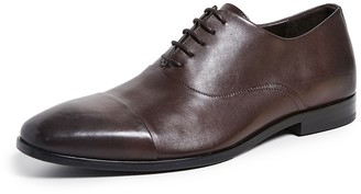 HUGO BOSS Highline Cap Toe Derby Lace Up Shoes