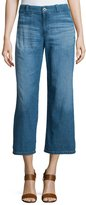 AG Jeans The Bobbie Wide-Leg Cropped Jeans, Weekend Getaway