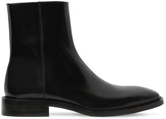 Balenciaga Patent Leather Rim Booties