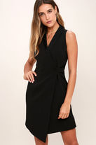 Adelyn Rae Cypher Black Lace Dress
