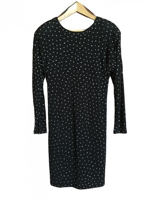 Jimmy Choo Black Viscose Dresses