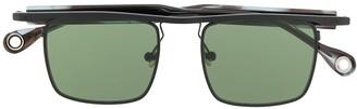 Études Karma square frame sunglasses
