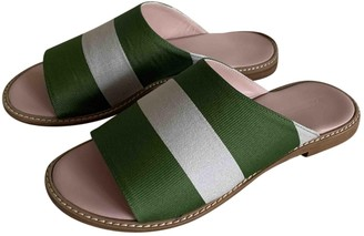 Max Mara Weekend Multicolour Leather Sandals