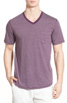 Nordstrom Men's Stripe V-Neck T-Shirt