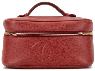 Chanel Pre Owned 1997 CC vanity case