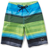 O'Neill Big Boys 8-20 Hyperfreak Stretch Striped Heist Board Shorts