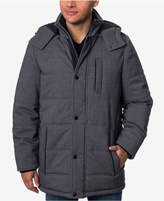 Perry Ellis Men's Stretch Hooded Parka