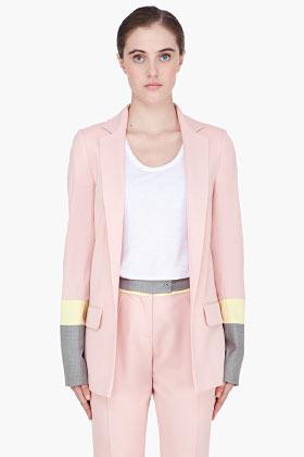Preen pale pink combo Carter Blazer