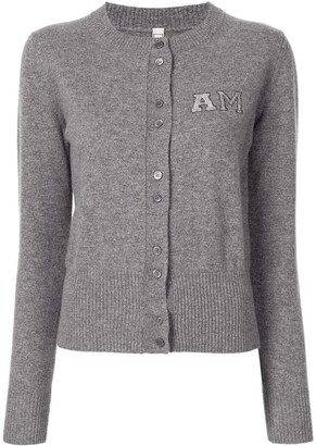 Antonio Marras Embroidered-Logo Cashmere Cardigan