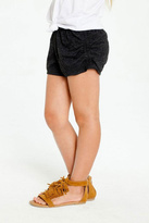Chaser Triblend Side Shirred Shorts