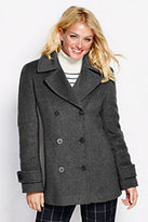 Classic Women's Luxe Wool Insulated Peacoat-Vicuna