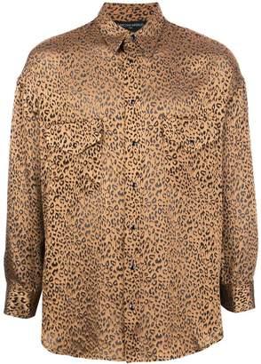 Buttoned Down Garcons Infideles leopard print button shirt
