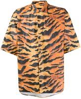 DSQUARED2 animal print shirt