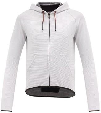 Café Du Cycliste Solenne Hooded Performance Sweatshirt - White