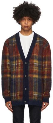 Etro Multicolor Knit Check Cardigan