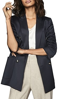 Reiss Astrid Double-Breasted Blazer